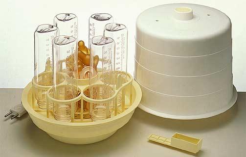 Esterilizadores de microondas são bem práticos, mas os preços variam.