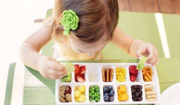 refeição colorida