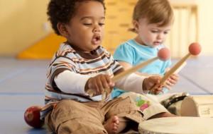 música faz bem para o bebê